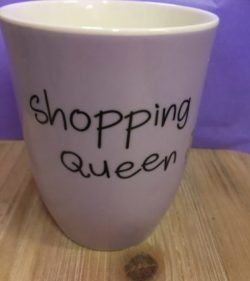 Mea Living 500 ml Becher Shopping Queen - Elfengarten.shop