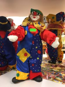 Karneval Clown Figur