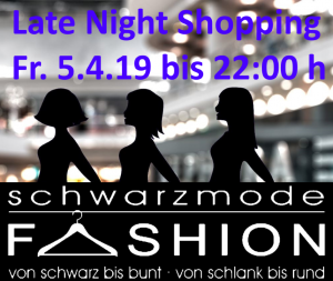 Schwarz Mode Dormagen Late Night Shopping