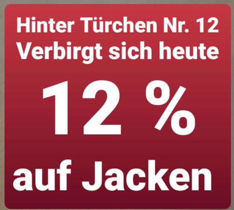 Jacken Dormagen - Adventskalender Schwarzmode Fashion 12